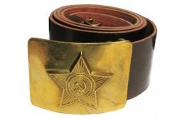 Ремень солдатский со звездой