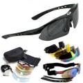Тактические стрелковые очки со сменными линзами