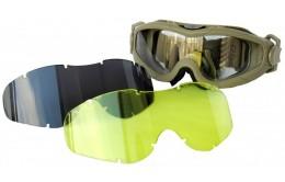 Тактические очки со сменными стеклами