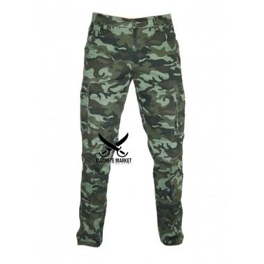 """Брюки (штаны) мужские """"Зелёный камуфляж"""""""