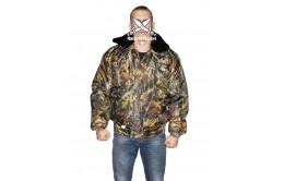 Куртка охранника утеплённая камуфляжная