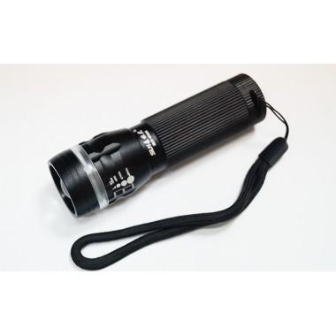 Карманный фонарик с зумом 3W