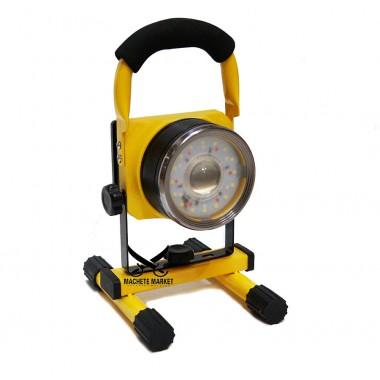 Аккумуляторный фонарь-прожектор с ручкой