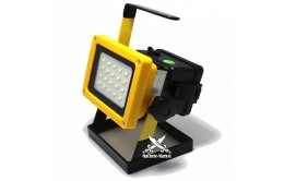 Переносной фонарь прожектор с ручкой 20 Led