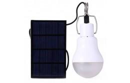 Лампа-фонарь с солнечной панелью