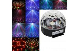 Светящийся диско шар (цветомузыка) с Bluetooth и Usb