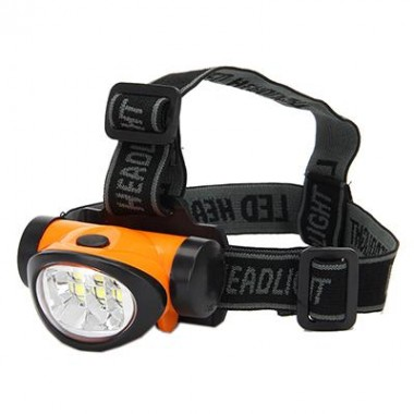 Яркий налобный фонарик 6Led