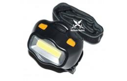 Налобный фонарик COB LED