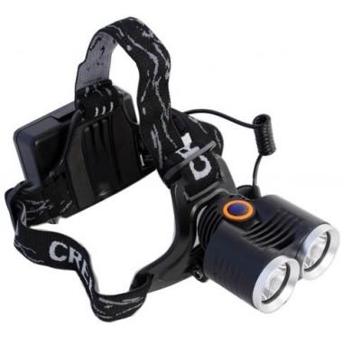 Светодиодный фонарь-фара для велосипеда и налобного ношения