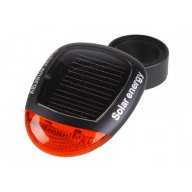 Фонарь для велосипеда на солнечной батарее