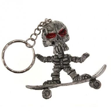 "Брелок ""Скелет на скейтборде"""
