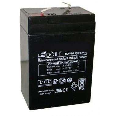 Аккумулятор 6V 4.5АH