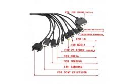 Универсальное зарядное устр-во 14в1 +автоадаптер