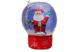 "Надувная фигура ""Дед Мороз в шаре со снегом"""