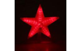 Звезда светящаяся на ёлку