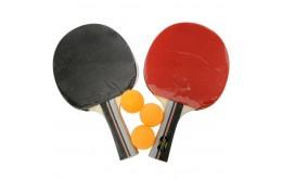 Ракетки для настольного тенниса с 3-мя мячами
