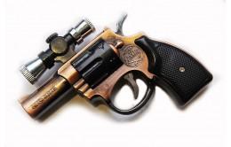 Пистолет зажигалка с лазерной указкой