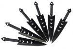 Комплект ножей для метания 6шт в чехле