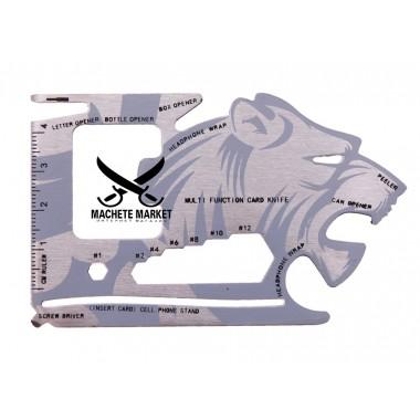 Универсальная кредитка-мультитул 18-in-1 Lion Head Tool