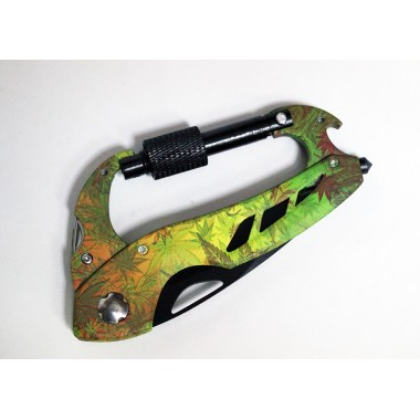 Нож-карабин мультитул