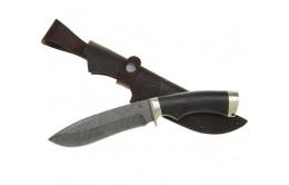 """Нож ручной работы из дамасской стали """"Скиф"""""""