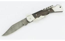 Складной нож из дамасской стали «Гусар-3»