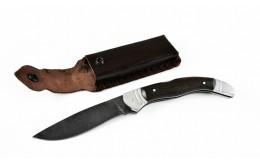 Складной нож из дамасской стали «Каюр-2»