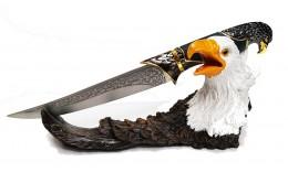 """Нож сувенирный на подставке """"Крыло Орла"""""""