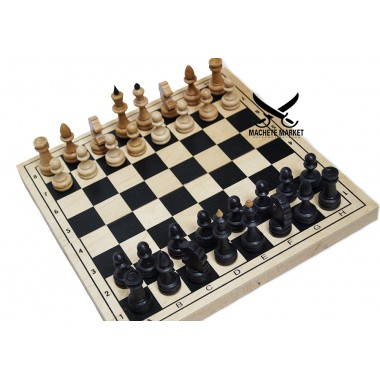 Шахматы деревянные 28см