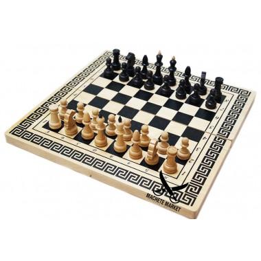 Нарды шахматы шашки 3 в 1 37см