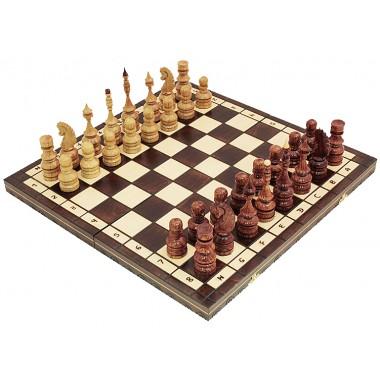 Шахматы большие дубовые