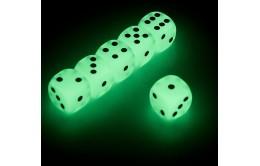 Кубики игральные (зары) светящиеся