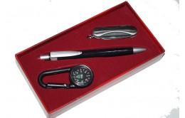 Набор подарочный ручка-компас-мультитул