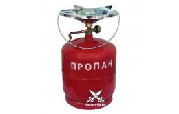 """Комплект газовый горелка с балоном """"Кемпинг"""" 8л"""