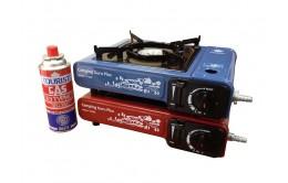 Портативная газовая плита Camping Guru Plus TS-233 (с переходником)