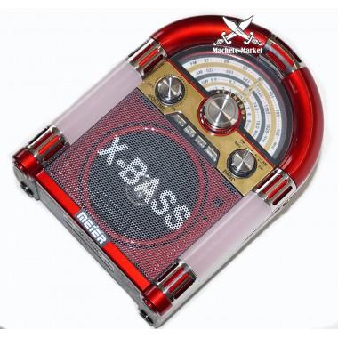 Радиоприемник Usb/TFMP3 Player Meier M-U65 c часами
