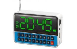 Радиоприемник магнитола часы будильник WS1513