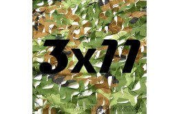 Сетка маскировочная камуфляжная двухслойная 3x11м