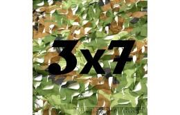 Сетка маскировочная камуфляжная двухслойная 3x7м