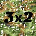 Сетка маскировочная камуфляжная двухслойная 3х2м