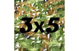 Сетка маскировочная камуфляжная двухслойная 3x5м