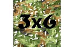 Сетка маскировочная камуфляжная двухслойная 3x6м