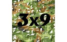 Сетка маскировочная камуфляжная двухслойная 3x9м