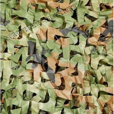 Сетка маскировочная камуфляжная двухслойная