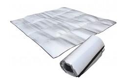Коврик фольгированный для кемпинга 2x2м