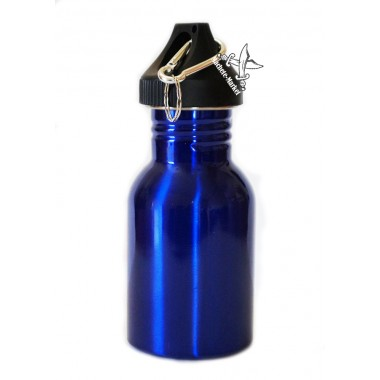 Бутылка туристическая 250мл с карабином