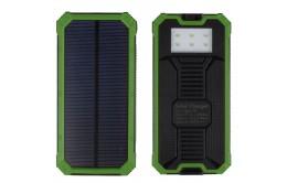 Внешний аккумулятор на солнечных батареях Solar Charger EK-3 20000mAh