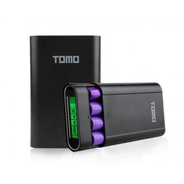Зарядное устройство с дисплеем на 4 аккумулятора