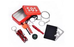 Спасательный набор выживания 6 предметов