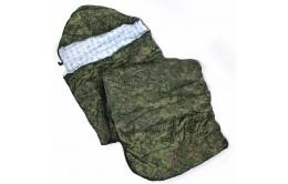 Спальный мешок 3-х слойный с капюшоном
